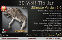 Wolf Tip Jar - Ultimate Version