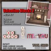 Tool Shed - Valentine Blocks Kit 2