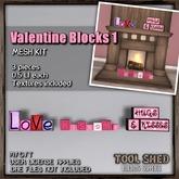 Tool Shed - Valentine Blocks Kit 1