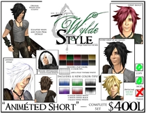 -Animéted Short- A Wylde Style by Khyle Sion at ~Refined Wild~