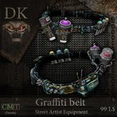 >> DK << Graffiti Belt (Female)