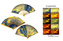 [ity.] China - Fan Leaves (3 pack 10 textures)