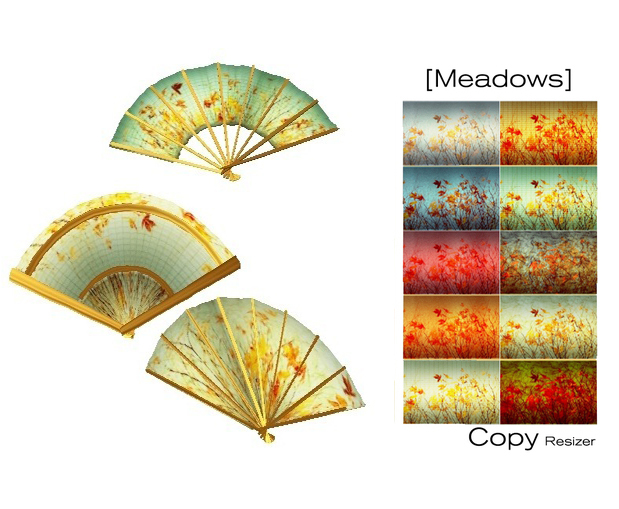 [ity.] China - Fan Meadows (3 pack 10 textures)
