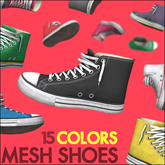 High Tops - Mesh Shoes
