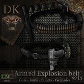>> DK << Armed Explosion Belt (male)