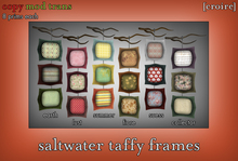 [croire] Saltwater Taffy Frames (Indie Hipster Boho Decorations with Tree Branch)
