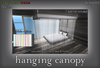 croire  hanging ceiling canopy %28resizable  2 sizes included  8 color options%29 beautiful  romantic  girly bedroom decor.