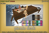 [croire] Picnic Deck (Everything included - customizeable color options, poses) Pose prop or outdoor decor, lakes/oceans