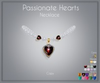 Moondance Jewel Passionate Heart Necklace