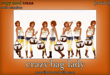 [croire] Crazy Bag Lady (set of static photography/model/blogger/fashion poses, purse poses, hangbag poses)