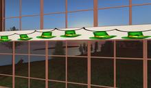 St Patricks Blinking Hats Banner