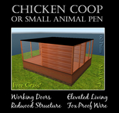 Large Animal Coop or Pen