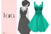 Lumiere Lara Dress Turquoise