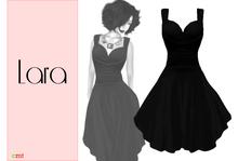 Lumiere Lara Dress Black