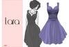 Lumiere Lara Dress Lilac