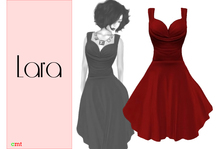 Lumiere Lara Dress Red