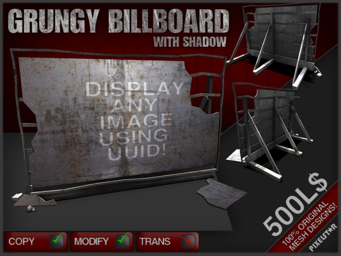 Grungy Billboard [[[ ON SALE!!! ]]]]