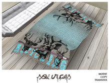 """""""RUG 2"""" BLUE Recycling by """"Sources""""  PG - MESH/PRIM - BOX - Copy and Modify"""