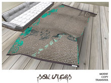 """RUG 6"" GREEN ASIA by ""Sources""  PG - PRIM - BOX - Copy and Modify"