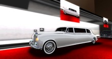 BILLIONAIRE MOTORS GRAND ROYAL LIMO(WHITE)BOXED