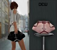 """DEW"" Face clutch pink"