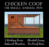 Small Animal - Coop or Pen