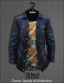 {Fe Style} Denim Jacket w/Shirt /Colorized