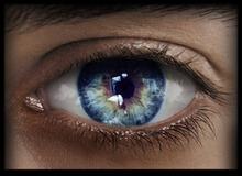 -Labyrinth- Natural Eyes - Crystal Blue
