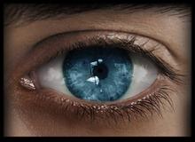 -Labyrinth- Natural Eyes - Pure Blue