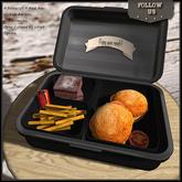 !! Follow US !! Meal box - Vintage burgers COPY version Box