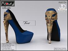 AZOURY - Succubus Heels (Peacot)