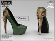 AZOURY - Succubus Heels (Dark Forest)