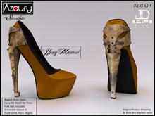 AZOURY - Succubus Heels (Honey Mustard)