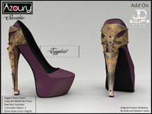 AZOURY - Succubus Heels (Eggplant)
