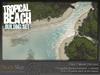 Tropical beach set 5