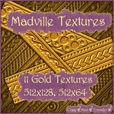 Madville Textures - Ornamental Gold Textures 2 (S)