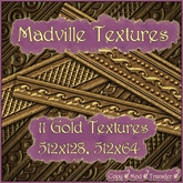 Madville Textures - Ornamental Gold Textures 2