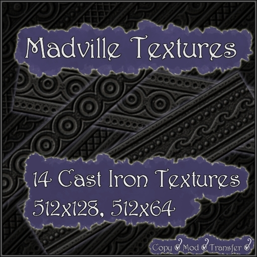 Madville Textures - Ornamental Cast Iron Textures