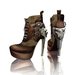 Ladies steampunk boots 3