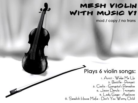 ~BNV~ Mesh Violin with Songs v1 version 2014