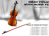 ~BNV~ Mesh Violin with Music v2 version 2014 Music Classic