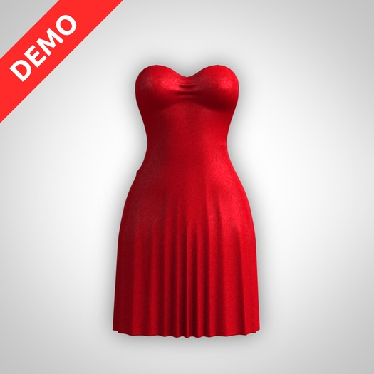 ANOIRCRE Amour Dress DEMO (Mesh)