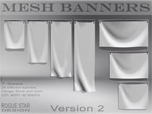 *ROGUE STAR DESIGN* Mesh Banners Set