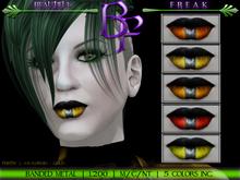 Beautiful Freak: Banded Metal Lipstick - cgory