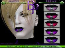 Beautiful Freak: Banded Metal Lipstick - bfppv