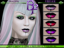 Beautiful Freak: Banded Metal Lipstick -