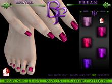 Beautiful Freak: Binary nails - bfppv