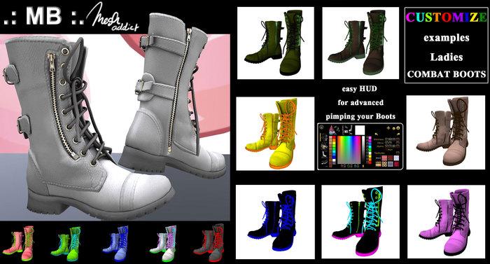 Customize Combat Boots
