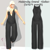 Maternity Overal  <Solta> (3/6/9 month) black