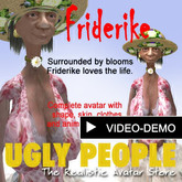 Ugly People Collection, FRIDERIKE